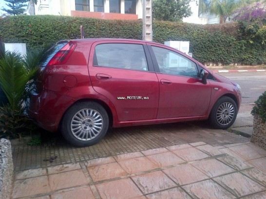 fiat grande punto 2007 diesel 99489 occasion casablanca maroc. Black Bedroom Furniture Sets. Home Design Ideas