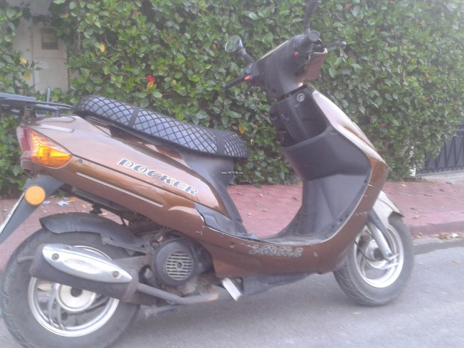 Moto au Maroc DOCKER Sahara Tcbpax - 133914