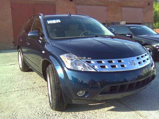 nissan murano gfhjkl 2006 diesel 43735 occasion casablanca maroc. Black Bedroom Furniture Sets. Home Design Ideas