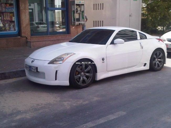 nissan 350z 3500cc 2004 essence 14422 occasion casablanca maroc. Black Bedroom Furniture Sets. Home Design Ideas