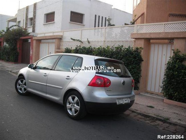 volkswagen golf 5 sportline 2007 diesel 17040 occasion casablanca maroc. Black Bedroom Furniture Sets. Home Design Ideas