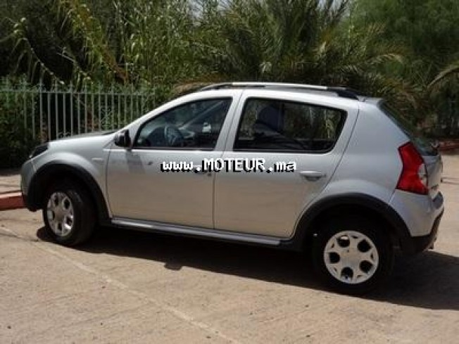dacia sandero stepway 1 5 dci 2010 diesel 36570 occasion marrakech maroc. Black Bedroom Furniture Sets. Home Design Ideas