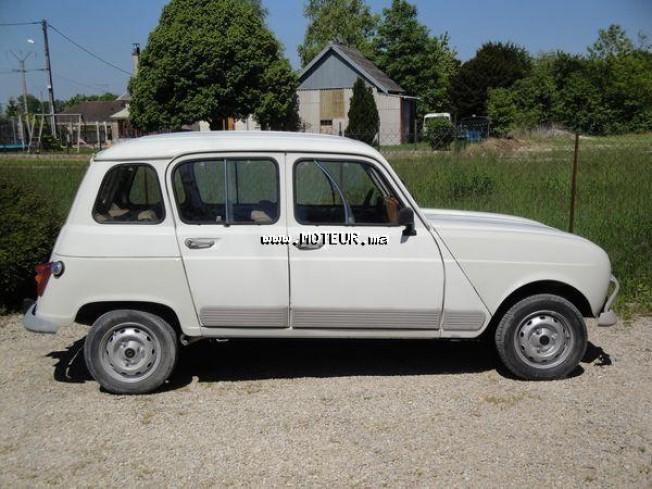 renault r4 1.1 1992 essence 49698 occasion à mohammedia maroc
