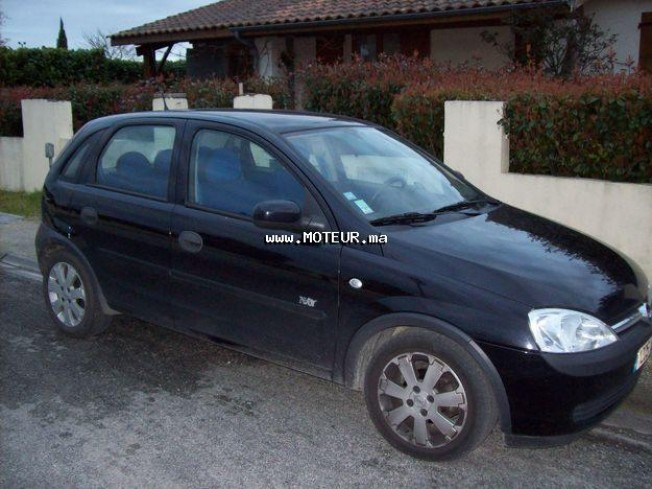 opel corsa 2003 essence 15449 occasion casablanca maroc. Black Bedroom Furniture Sets. Home Design Ideas
