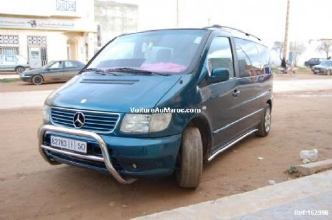 mercedes vito 220cdi 2001 diesel 11334 occasion nador maroc. Black Bedroom Furniture Sets. Home Design Ideas