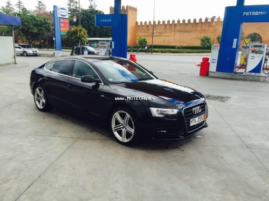 audi a5 3 0 tdi 2012 diesel 64842 occasion rabat maroc. Black Bedroom Furniture Sets. Home Design Ideas