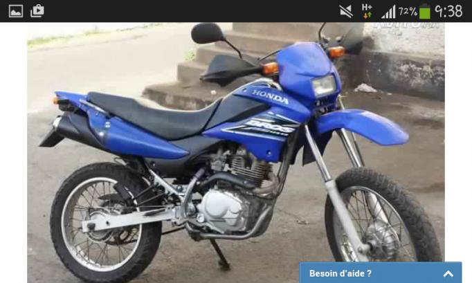 دراجة نارية في المغرب هوندا بروس 125cc - 131698