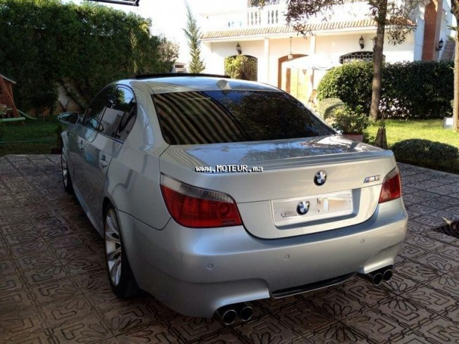 bmw m5 v10 2006 essence 37438 vendre casablanca. Black Bedroom Furniture Sets. Home Design Ideas