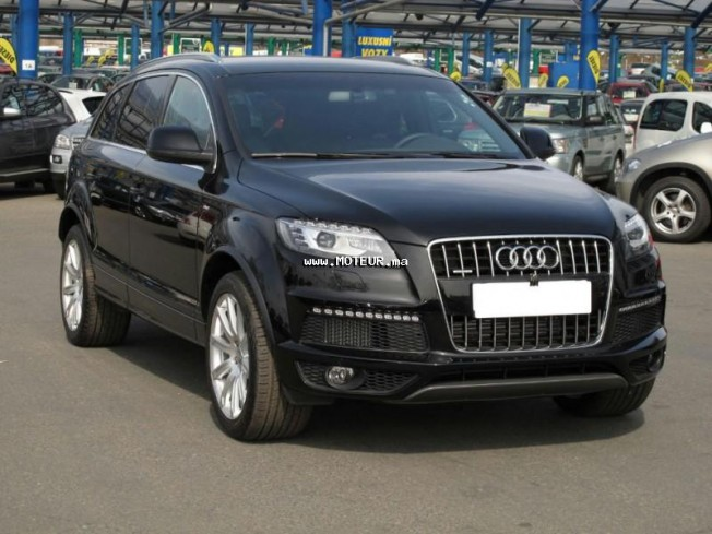 audi q7 2010 diesel 32046 occasion casablanca maroc. Black Bedroom Furniture Sets. Home Design Ideas