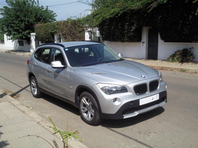 bmw x1 2 0 xdrive 2010 diesel 23331 occasion rabat maroc. Black Bedroom Furniture Sets. Home Design Ideas