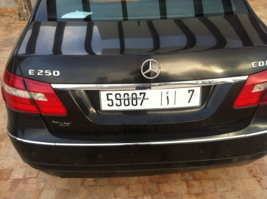 mercedes classe e 250 cdi 2011 diesel 105150 occasion casablanca maroc. Black Bedroom Furniture Sets. Home Design Ideas