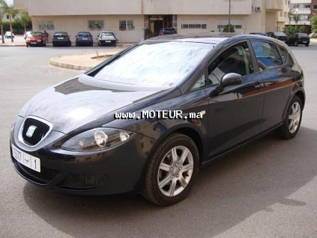 seat leon 1 6 2007 essence 15478 occasion agadir maroc. Black Bedroom Furniture Sets. Home Design Ideas