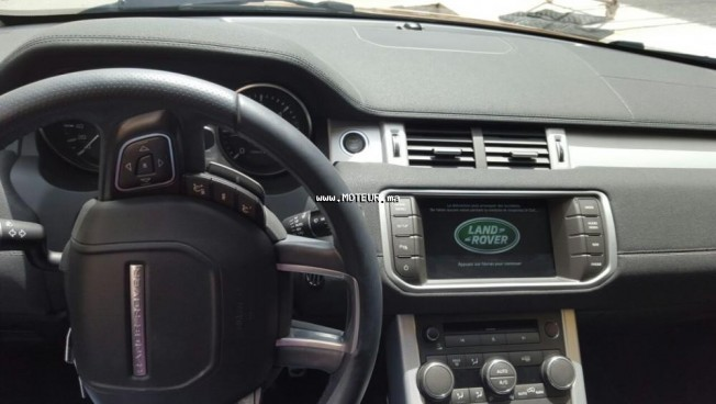land rover range rover evoque 2014 diesel 108940 occasion rabat maroc. Black Bedroom Furniture Sets. Home Design Ideas