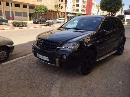 mercedes classe ml ml63 amg 510 cv 4 x 4 2006 essence 99641 occasion meknes maroc. Black Bedroom Furniture Sets. Home Design Ideas