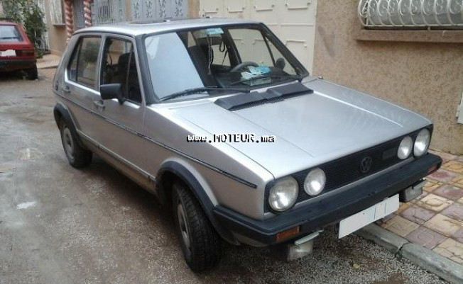 volkswagen golf gtd 1982 diesel 58497 occasion khemisset maroc. Black Bedroom Furniture Sets. Home Design Ideas