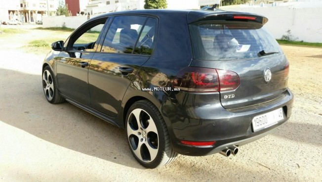 volkswagen golf 6 golf 6 gtd 2010 diesel 109769 occasion tanger maroc. Black Bedroom Furniture Sets. Home Design Ideas