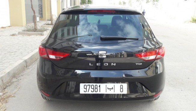 seat leon dynamique 2016 diesel 111891 occasion casablanca maroc. Black Bedroom Furniture Sets. Home Design Ideas