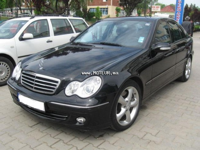 mercedes classe c 220 cdi 2005 diesel 15013 occasion casablanca maroc. Black Bedroom Furniture Sets. Home Design Ideas