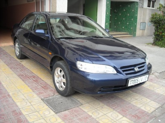honda accord 2 0 vti 2002 berline essence occasion 550 rabat maroc. Black Bedroom Furniture Sets. Home Design Ideas