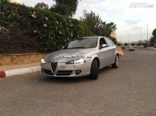 alfa romeo 147 black line 2010 diesel 69893 occasion casablanca maroc. Black Bedroom Furniture Sets. Home Design Ideas