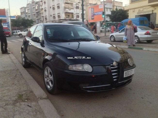 alfa romeo 147 1 9 jtd 2002 diesel 61141 occasion kenitra maroc. Black Bedroom Furniture Sets. Home Design Ideas
