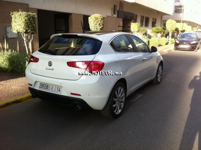 alfa romeo giulietta 2 0 2012 diesel 94397 occasion casablanca maroc. Black Bedroom Furniture Sets. Home Design Ideas