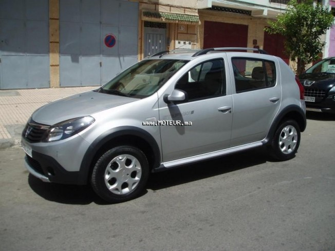 dacia sandero steepway 1 5 2012 diesel 54473 occasion rabat maroc. Black Bedroom Furniture Sets. Home Design Ideas