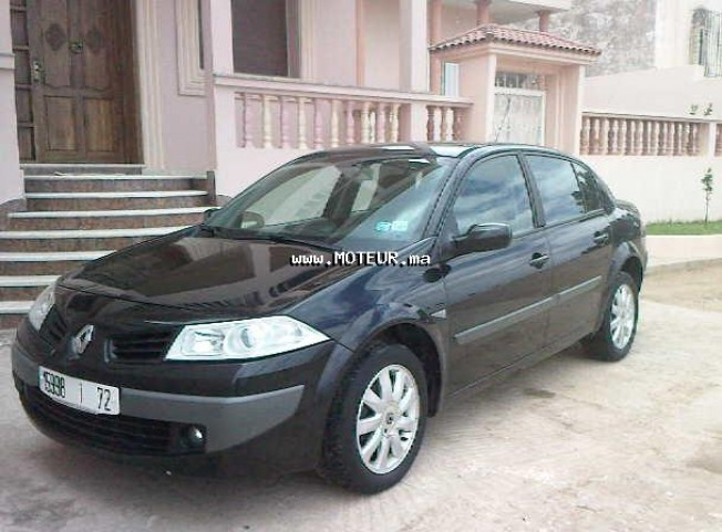 renault megane 1 5 dci 2007 diesel 13492 occasion casablanca maroc. Black Bedroom Furniture Sets. Home Design Ideas