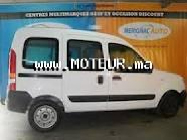 renault kangoo dci 1 5 2006 diesel 32955 occasion tetouan maroc. Black Bedroom Furniture Sets. Home Design Ideas