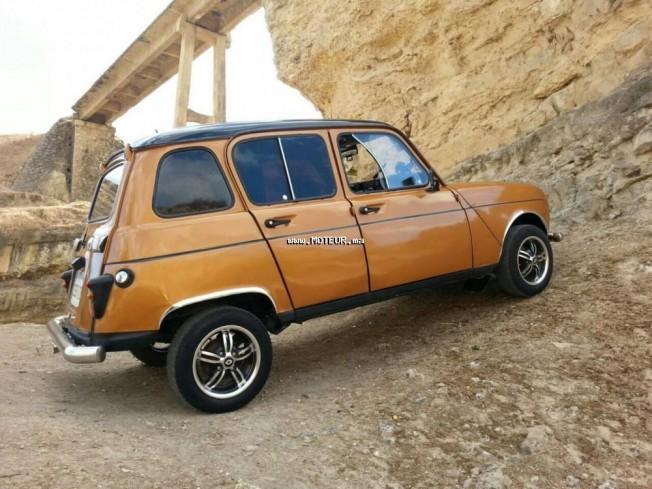 renault r4 1979 essence 96459 occasion à sidi kacem maroc