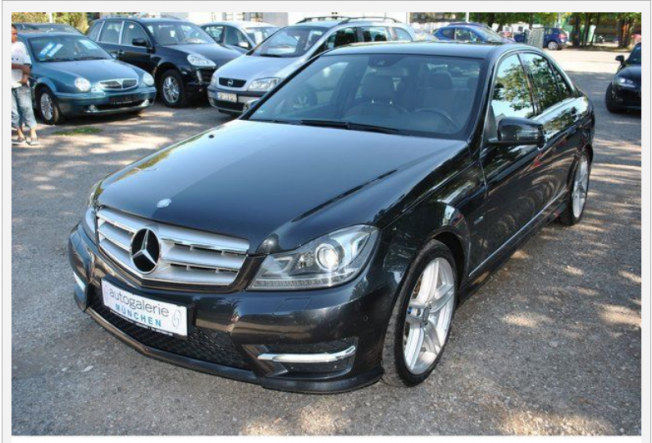 mercedes classe c c220 cdi aventgarde pak amg blueefficiency 7g tronic 2011 diesel 69885. Black Bedroom Furniture Sets. Home Design Ideas