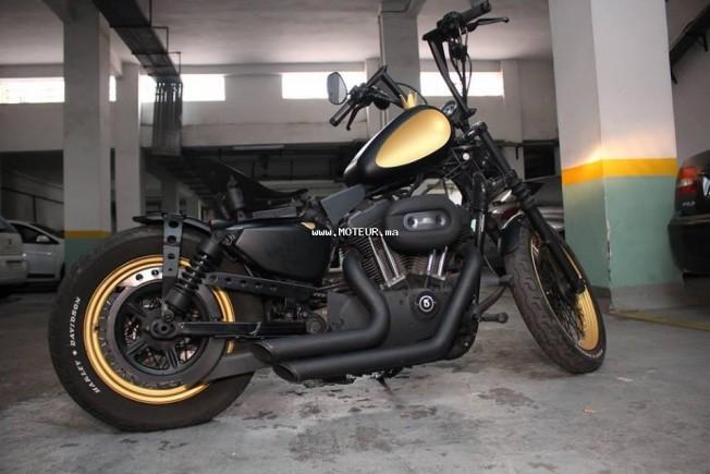 دراجة نارية في المغرب HARLEY-DAVIDSON Sportster 1200 custo 1200 custimiser - 133767
