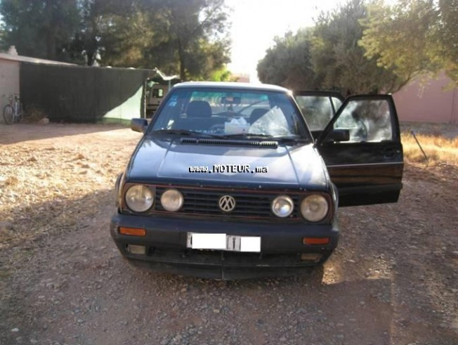 volkswagen golf 2 gtd 1988 diesel 17974 occasion errachidia maroc. Black Bedroom Furniture Sets. Home Design Ideas