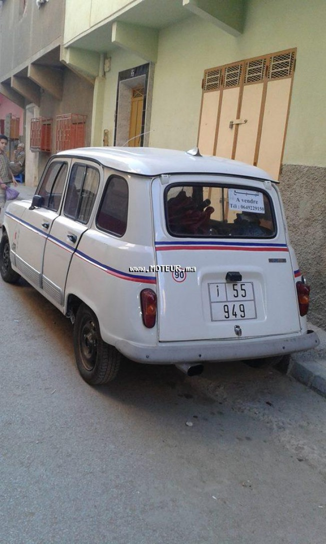 renault r4 1985 essence 57638 occasion à meknes maroc
