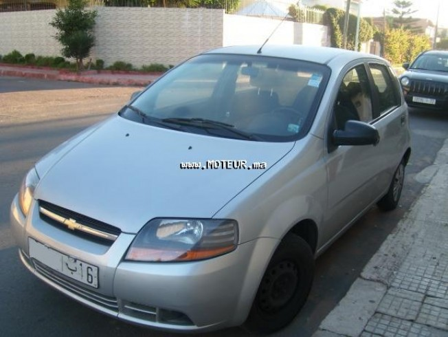 chevrolet aveo 2005 essence 16838 occasion casablanca maroc. Black Bedroom Furniture Sets. Home Design Ideas