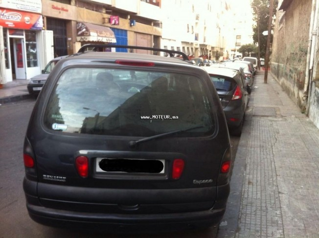 renault espace 1999 diesel 87702 occasion casablanca maroc. Black Bedroom Furniture Sets. Home Design Ideas