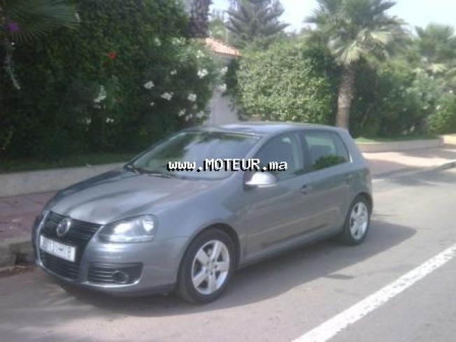 volkswagen golf 5 tdi 1 9 gt 2007 diesel 14644 occasion casablanca maroc. Black Bedroom Furniture Sets. Home Design Ideas