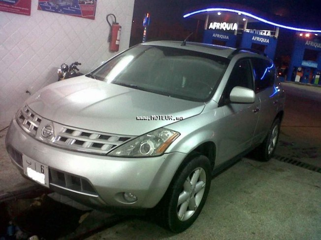 nissan murano 2004 essence 27465 occasion marrakech maroc. Black Bedroom Furniture Sets. Home Design Ideas