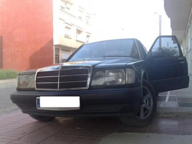 mercedes 190 d2 0 1994 diesel 10320 occasion agadir maroc. Black Bedroom Furniture Sets. Home Design Ideas