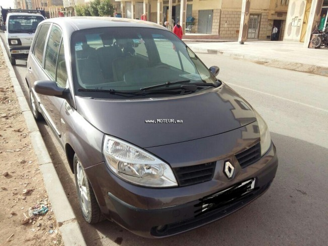 renault scenic 2005 essence 120096 occasion oujda maroc. Black Bedroom Furniture Sets. Home Design Ideas