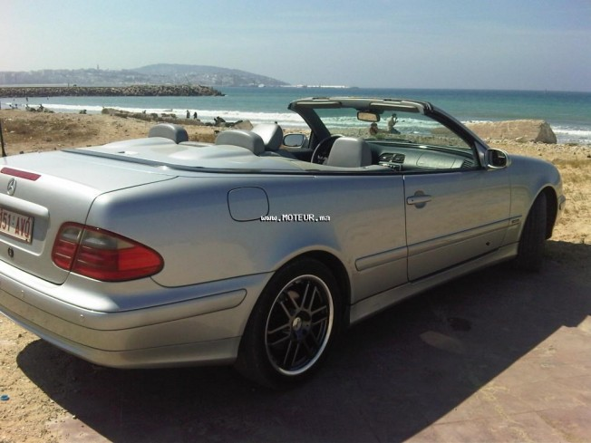 mercedes clk cabriolet 2001 essence 110230 occasion tanger maroc. Black Bedroom Furniture Sets. Home Design Ideas
