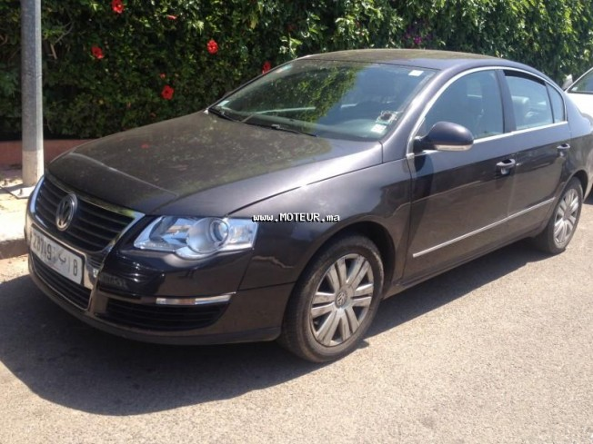 volkswagen passat tdi 1 9 2006 diesel 54635 occasion casablanca maroc. Black Bedroom Furniture Sets. Home Design Ideas