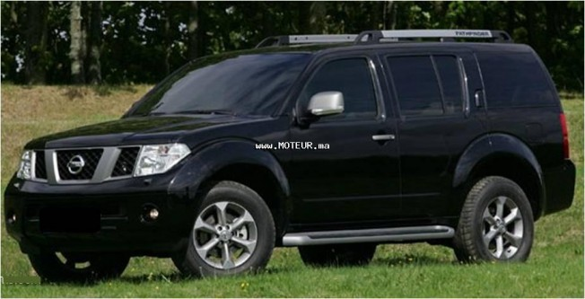 nissan pathfinder 2 5l diesel sw 2008 diesel 67839 occasion casablanca maroc. Black Bedroom Furniture Sets. Home Design Ideas