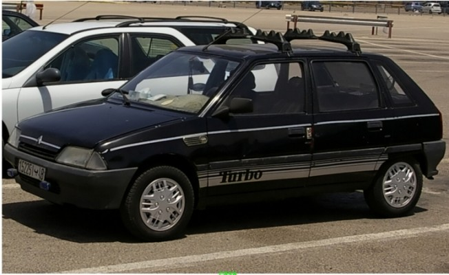 citroen ax rte 1990 essence 10151 occasion casablanca maroc. Black Bedroom Furniture Sets. Home Design Ideas