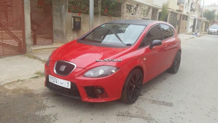seat leon 1 6 2007 essence 66594 occasion rabat maroc. Black Bedroom Furniture Sets. Home Design Ideas
