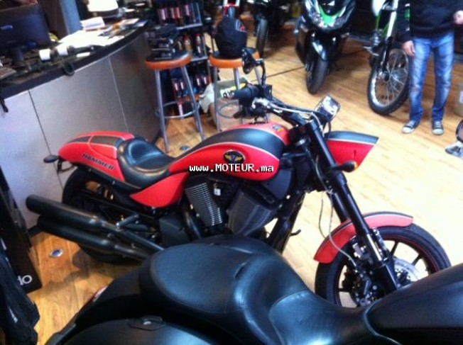 Moto au Maroc VICTORY Hammer s - 131279