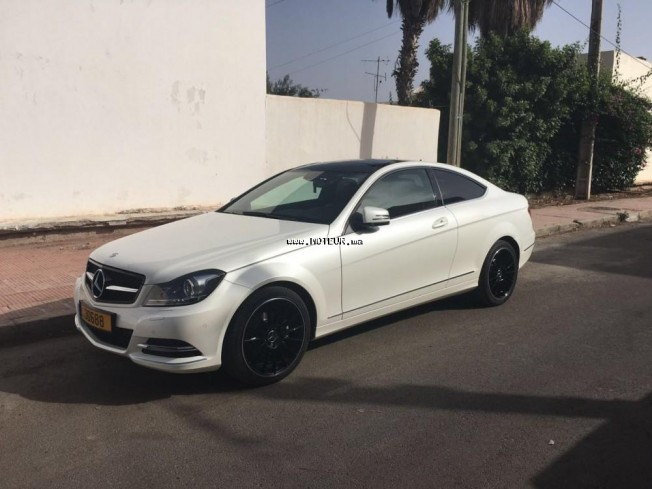 mercedes classe c coup 220 cdi 7g tronic 2013 diesel 111465 occasion agadir maroc. Black Bedroom Furniture Sets. Home Design Ideas