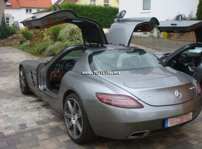 mercedes sls 6 3 amg 2010 essence 36572 occasion casablanca maroc. Black Bedroom Furniture Sets. Home Design Ideas