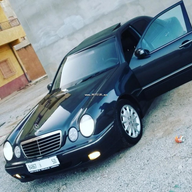 mercedes classe e e220 cdi 2000 diesel 74627 occasion nador maroc. Black Bedroom Furniture Sets. Home Design Ideas