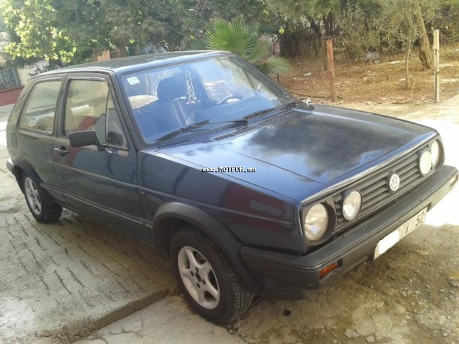 volkswagen golf 2 serie 2 1985 diesel 109801 occasion meknes maroc. Black Bedroom Furniture Sets. Home Design Ideas